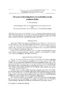 120 years of investigations on zoobenthos in the southern Baltic