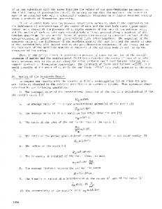 31. Motion of the sun-earth System