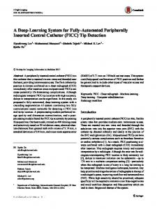 A Deep-Learning System for Fully-Automated Peripherally Inserted Central Catheter (PICC) Tip Detection