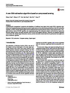 A new DOA estimation algorithm based on compressed sensing