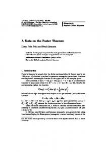 A Note on the Fueter Theorem