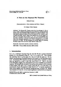 A Note on the Hayman-Wu Theorem
