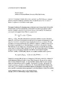 A note on Wick's theorem