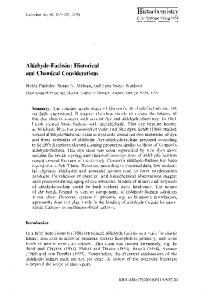 Aldehyde-fuchsin: Historical and chemical considerations