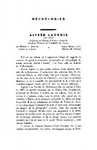 Alfred Lacroix