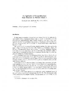 An application of compactifications: Some theorems on maximal ideals