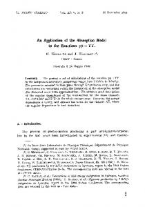 An application of the absorption model to the reactions\(p\bar p \to Y\bar Y\)