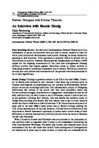 An Interview with Bonnie Honig