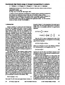 Anomalously high kinetic energy of charged macroparticles in a plasma