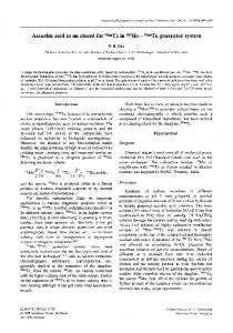 Ascorbic acid as an eluent for99mTc in99Mo−99mTc generator system