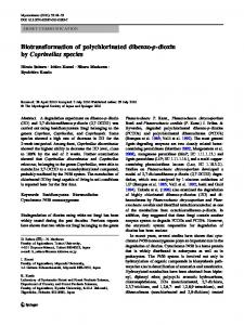 Biotransformation of polychlorinated dibenzo-p-dioxin by Coprinellus species
