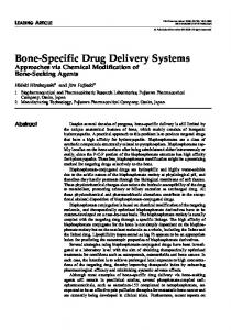Bone-Specific Drug Delivery Systems