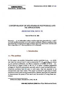Concentration of Multivariate Polynomials and Its Applications