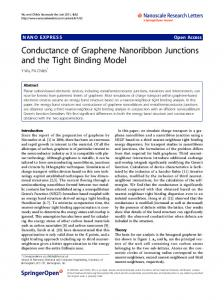 Conductance of Graphene Nanoribbon Junctions and the Tight Binding Model