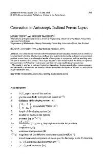 Convection in anisotropic inclined porous layers