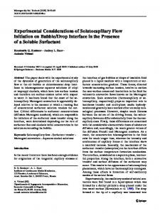 Drop Interface in the Presence of a Soluble Surfactant