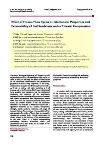 Effect of freeze-thaw cycles on mechanical properties and permeability of red sandstone under triaxial compression