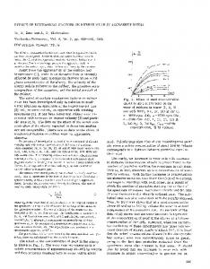 Effect of mechanical factors on rubber wear in aggressive media