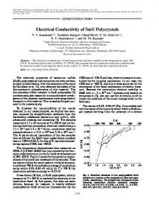 Electrical conductivity of SmS polycrystals