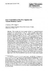 Exact controllability of the wave equation with Neumann boundary control