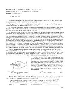 Experimental study of heat transfer of a sphere and a flat plate in supersonic rarefied gas flow