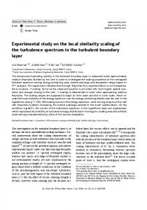 Experimental study on the local similarity scaling of the turbulence spectrum in the turbulent boundary layer
