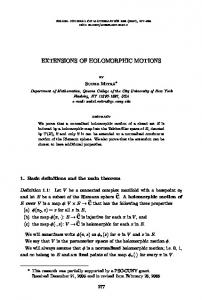 Extensions of holomorphic motions