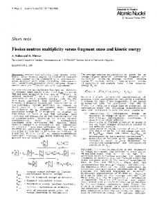 Fission neutron multiplicity versus fragment mass and kinetic energy