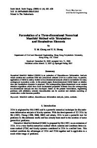Formulation of a Three-dimensional Numerical Manifold Method with Tetrahedron and Hexahedron Elements