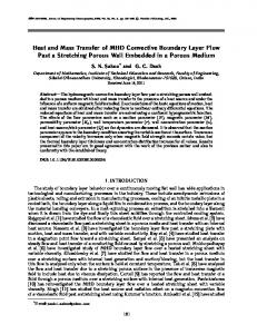 Heat and mass transfer of MHD convective boundary layer flow past a stretching porous wall embedded in a porous medium