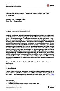 Hierarchical Multilabel Classification with Optimal Path Prediction