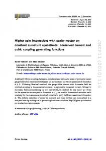 Higher spin interactions with scalar matter on constant curvature spacetimes: conserved current and cubic coupling generating functions