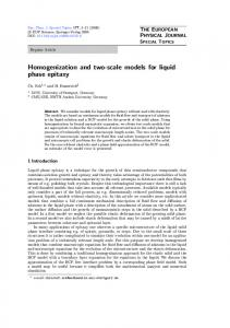 Homogenization and two-scale models for liquid phase epitaxy