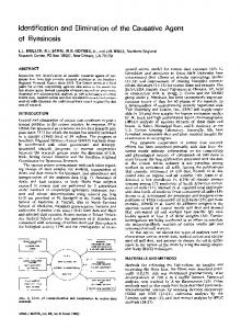 Identification and elimination of the causative agent of byssinosis