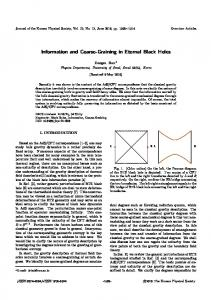 Information and Coarse-Graining in Eternal Black Holes