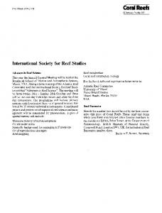 International Society for Reef Studies