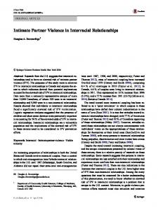 Intimate Partner Violence in Interracial Relationships