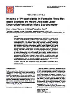 Ionization Mass Spectrometry