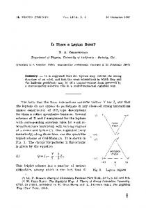 Is there a lepton octet?