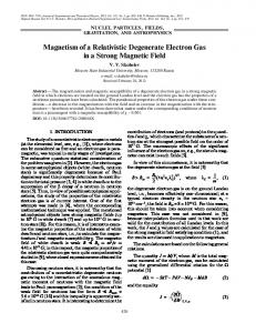 Magnetism of a relativistic degenerate electron gas in a strong magnetic field