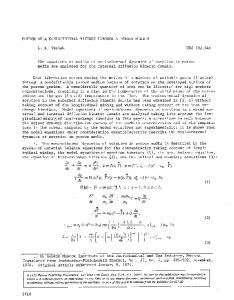 Motion of a nonisothermal mixture through a porous medium