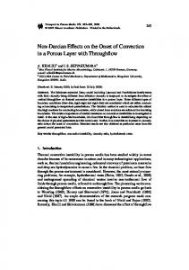 Non-Darcian Effects on the Onset of Convection in a Porous Layer with Throughflow