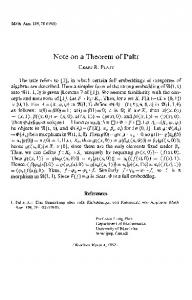 Note on a theorem of pultr