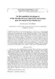 On the population development of the introduced razor clamEnsis americanus near the island of Sylt (North Sea)