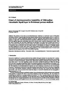 Onset of electroconvective instability of Oldroydian viscoelastic liquid layer in Brinkman porous medium