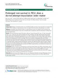 Prolonged non-survival in PICU: does a do-not-attempt-resuscitation order matter