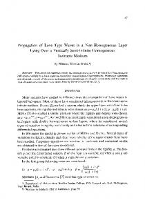 Propagation of Love type waves in a non-homogeneous layer lying over a vertically semi-infinite homogeneous isotropic medium