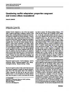 Questioning conflict adaptation: proportion congruent and Gratton effects reconsidered
