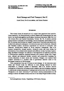 Rock Damage and Fluid Transport, Part II