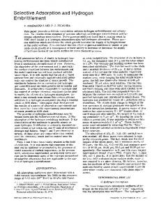 Selective adsorption and hydrogen embrittlement